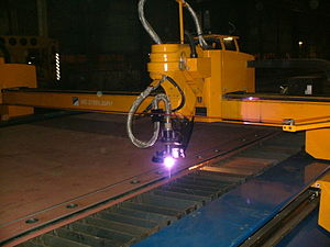 plasma cutting with a cnc machine
