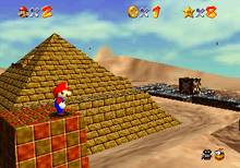 Platform game   Wikipedia Super Mario 64  1996  replaced the linear obstacle courses of traditional platform  games with vast worlds