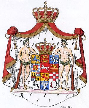 The arms of the Duchy of Brunswick