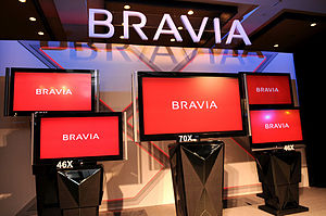 The latest Sony Bravia X Series as of October 2008