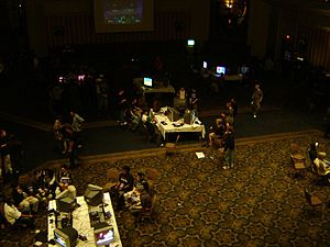 Magfest gaming room