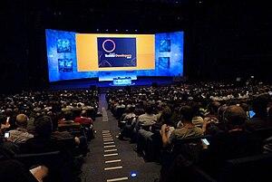 Keynote speak at TechEd EMEA 2007