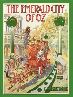 1st edition cover design for The Emerald City ...