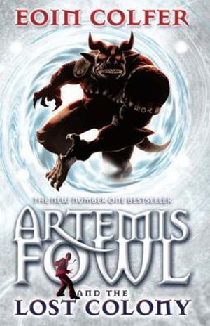 European Cover of Artemis Fowl and the Lost Colony