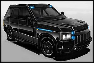 The Torchwood Three SUV