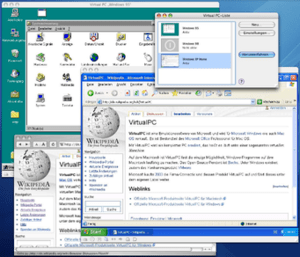 Virtual PC 6.1 for Macintosh