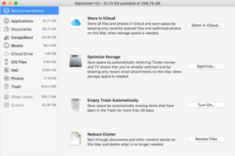 ee2b9ce94 iCloud Drive و Optimized Storageتصحيح