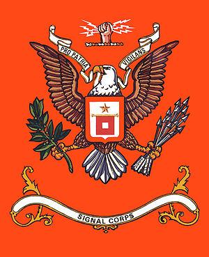 The Signal Corps Regimental Color