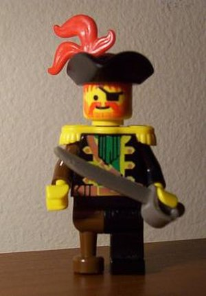 Custom LEGO Pirate