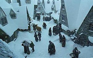 Hogsmeade as seen in the films