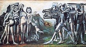 Pablo Picasso, Massacre in Korea, 1951