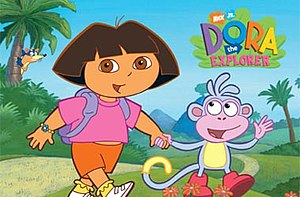 From left to right: Swiper (in background), Do...
