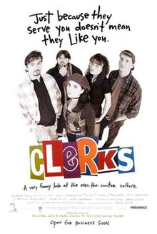 Clerks movie film kevin smith