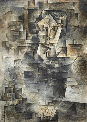 by Pablo Picasso, 1910, Oil on canvas, 45 5/8 ...