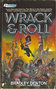 Wrack & Roll, 1986 U.S. paperback, cover art by Richard Corben