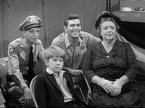 "Barney, Andy, Aunt Bee, and Opie in ""The ..."