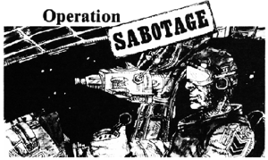 Title block for Operation Sabotage from Best o...