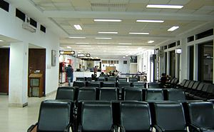 The boarding area of NSCBIA International Term...