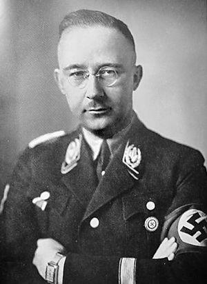 Heinrich Himmler was Commander of the Schutzst...