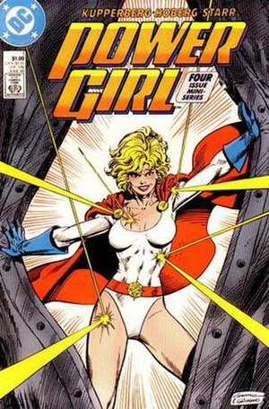 Power Girl, from Power Girl #1 (1988). Art by ...