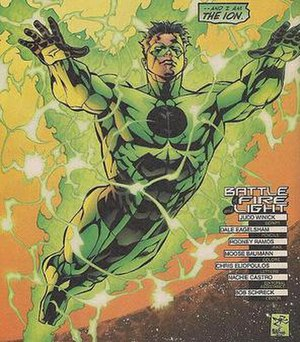 Kyle Rayner as Ion, from Green Lantern (vol. 3...