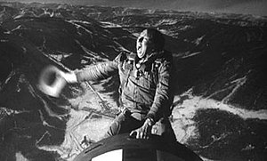 "Slim Pickens as Major ""King"" Kong ri..."
