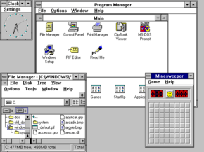 Windows 3.11 screenshot