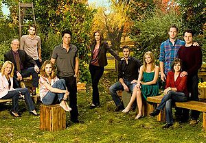Main cast of season four.