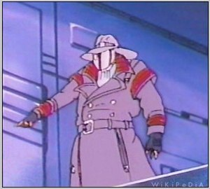 "Cobra Commander as ""Old Snake""."