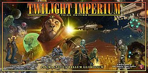 Box Art for Twilight Imperium 3rd Edition