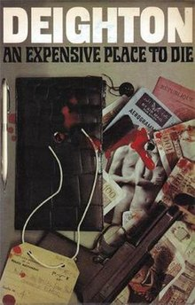 Paperback cover of An Expensive Place To Die