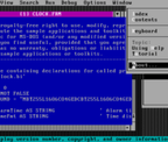 Visual Basic For Ms Dos