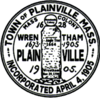 Official seal of Plainville, Massachusetts