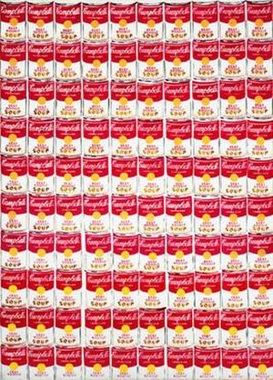 100 Cans, 1962, Andy Warhol, Oil on canvas, 72...