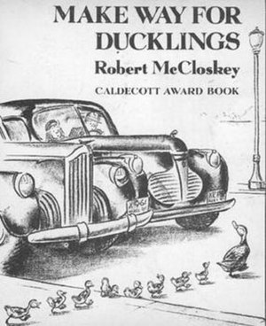 Make Way for Ducklings received the 1942 Calde...