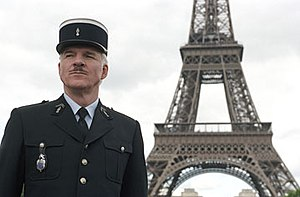 Steve Martin as Inspector Jacques Clouseau, su...
