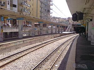 san giorgio circumvesuviana station