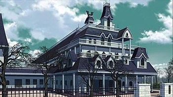 Yokai Academy, the main setting of Rosario + V...