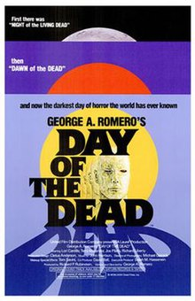 """Day of the Dead"" movie poster"
