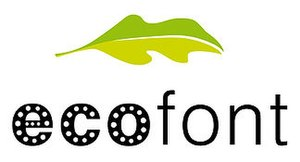 Logo of Ecofont by SPRANQ