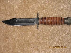 True survival knife
