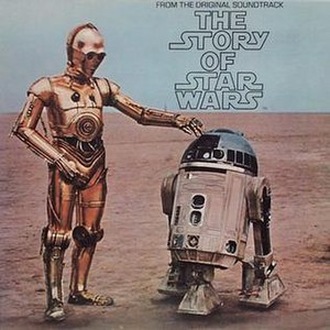 The Story of Star Wars 1977 LP