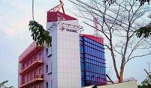 Telkomsel's HQ in Jakarta