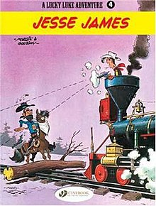 Jesse James Lucky Luke Wikipedia