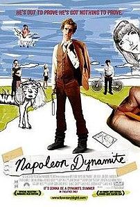 Film poster for Napoleon Dynamite - Copyright ...