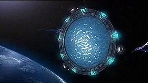 An orbital Stargate in the Pegasus galaxy.