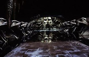 The Chamber of Secrets as seen in the second film