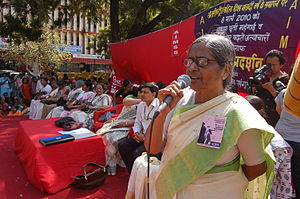 Chaya Mukherjee addressing the Parliament Marc...