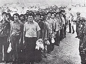 Greek Cypriot prisoners taken to Adana camps T...