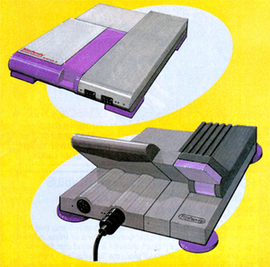 Early concept designs for the Super NES. The o...